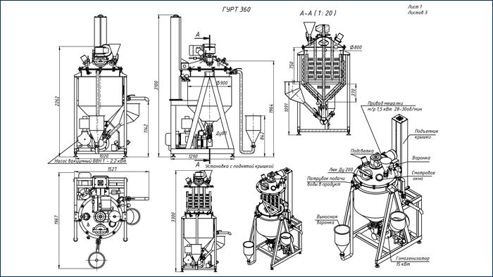Работа миксера и схема