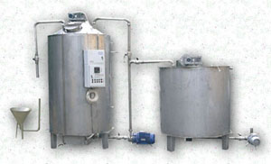 Линия (установка) для производства повидла, майонеза, кетчупа, сгущеного и вареного молока