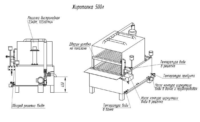 Варочный котёл ВК-150л для