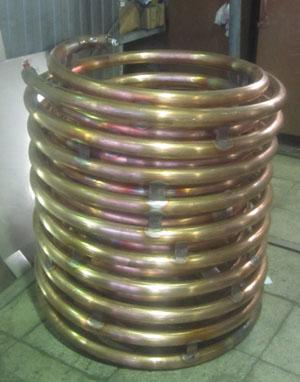 Изготовление змеевика теплообменника продам теплообменник на двигатель катера в украине