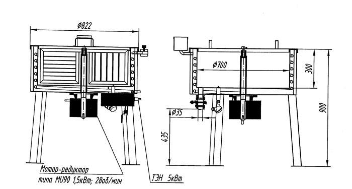 Схема устройства мыловарочного